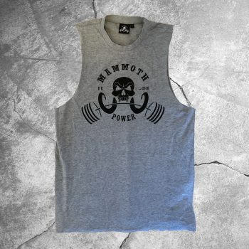 Mens Raw Vest - Mammoth Power Clothing