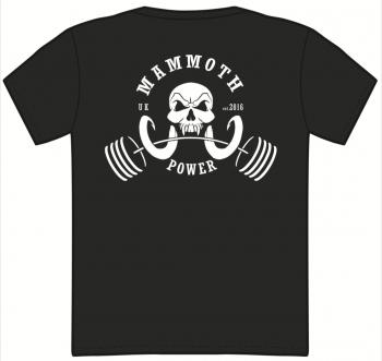 LIFT LOUD OG T-SHIRT (Black) - Mammoth Power Clothing