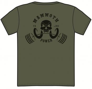 LIFT LOUD OG T-SHIRT (Military Green) - Mammoth Power Clothing